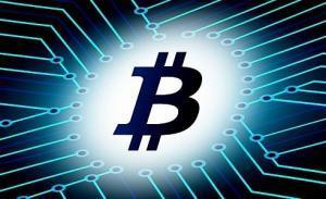 Blockchain logo bitcoina