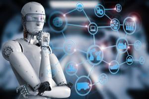 Sztuczna inteligencja - zastanawiający się robot