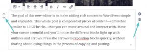 praca z blokami w Gutenbergu