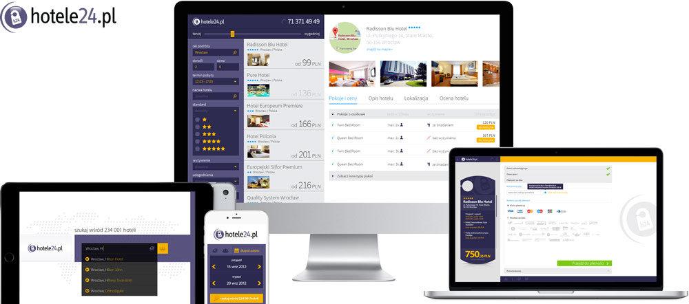Projekt Hotele24.pl